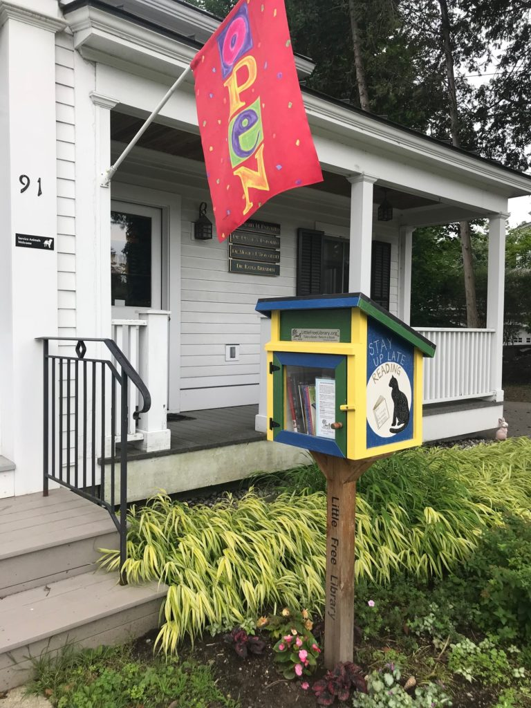Free Little Library - Middlebury Eye Associates